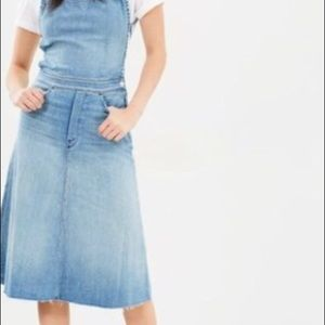 28926aa542 MOTHER Dresses - NWT Mother Denim Tie Back Midi Dress